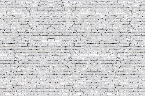 "3d фотообои ""Белая кирпичная стена"""