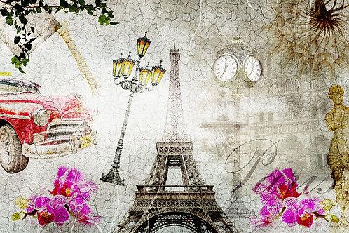 Дизайнерские фотообои - Париж