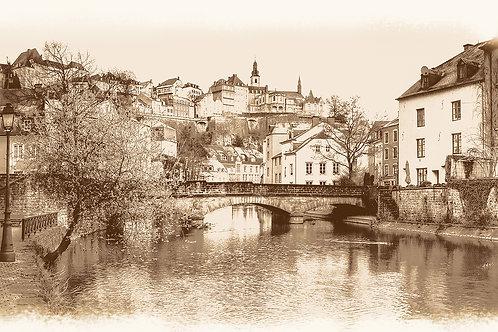 Фотообои или фреска - Старый город