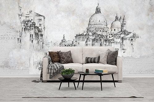 Фотообои на стену - Старая Венеция