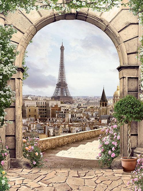 Фотообои или фреска - Paris
