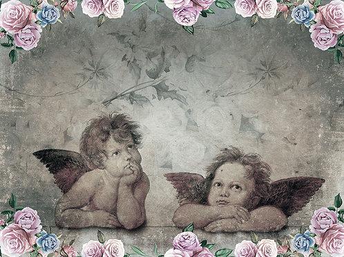 Дизайнерские фотообои - Ангелочки 2
