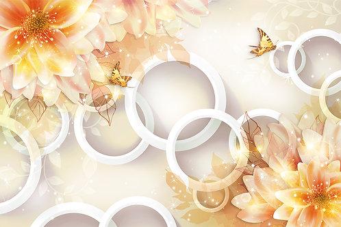 3д фотообои - Осенняя фантазия