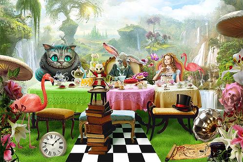 Детские фотообои - Алиса в стране чудес