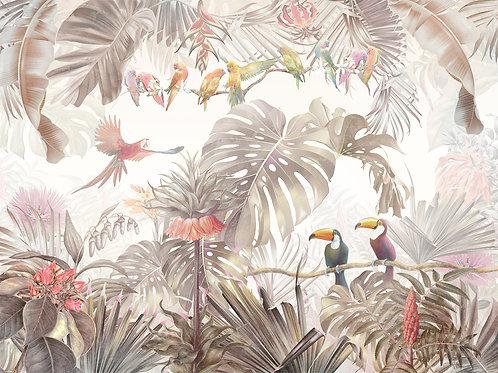 Дизайнерские фотообои - Тропическая поэма