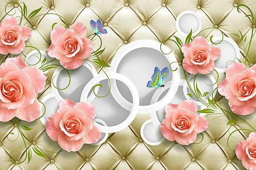 3d фотообои - Розы