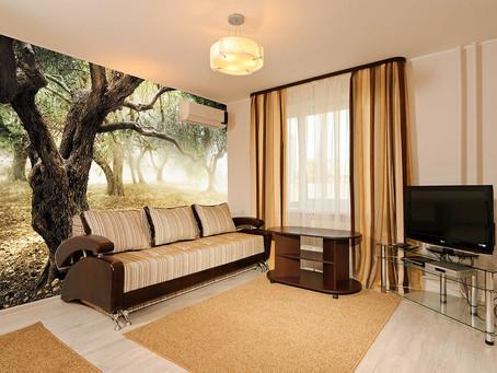 Преображение комнаты с помощью фотообоев
