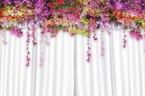 3d фотообои - Цветы