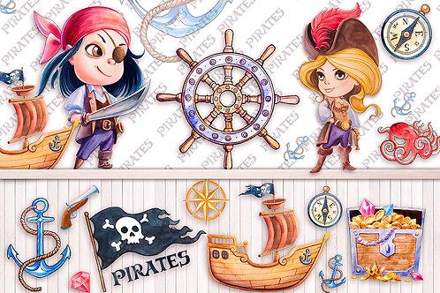 Детские фотообои - Пираты