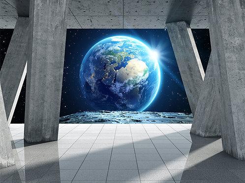 3d фотообои с планетой Земля