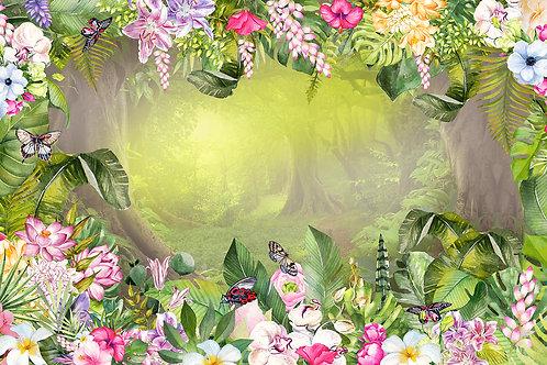 Дизайнерские фотообои - Волшебный лес