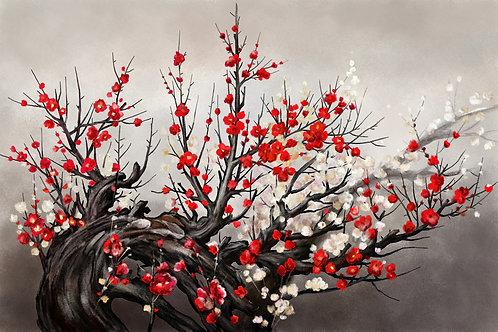 Картина на холсте - Сакура
