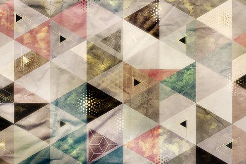 Дизайнерские фотообои - Grunge triangles