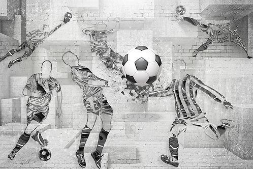 3d фотообои - Футболисты