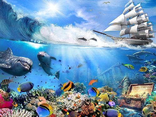 Фотообои или фреска - Море