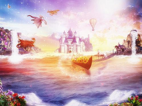 Детские фотообои - Fantasy world