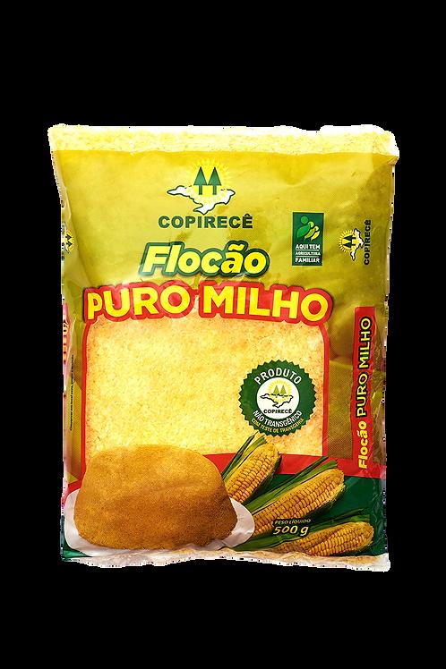 Flocão PURO MILHO (Milho Não Transgênico) 500g - COOPIRECÊ