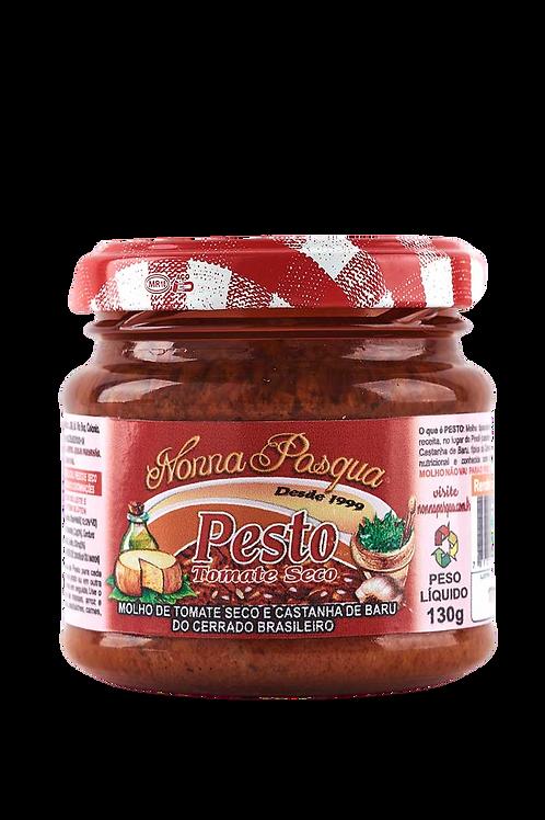 Pesto de Tomate Seco c/ Baru 130g - NONNA PASQUA