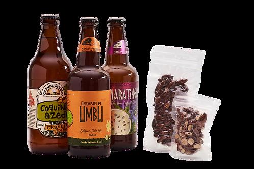 Kit Cervejas e Castanhas