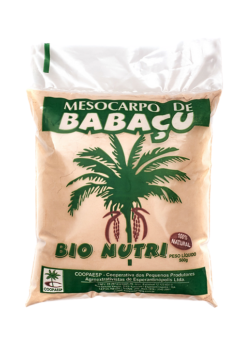 Farinha de Mesocarpo de Coco Babaçu 500g - COOPAESP