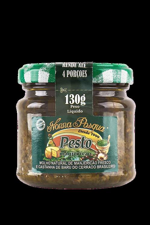 Pesto de Manjericão c/ Baru 130g - NONNA PASQUA