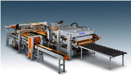 wood laminating line machine