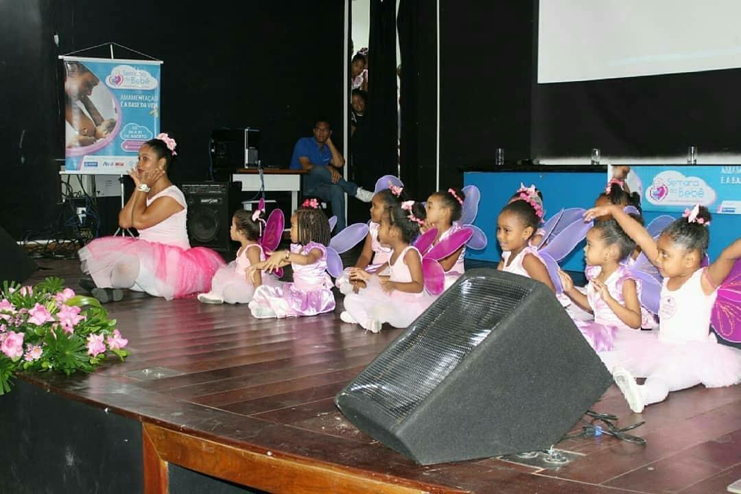 1_Show de criancas durante abertura da S