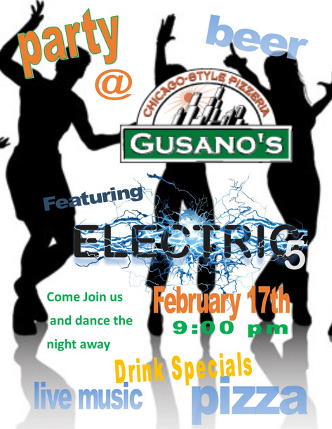Electric 5 played at Gusano's