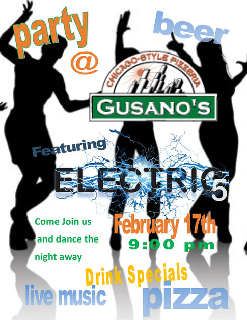 Electric 5 played at Gusano's