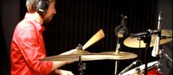 Adam Tompkins on Drums
