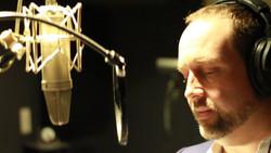 Carter Thomas in Recording Studio