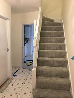 after builders clean staircase ruislip.j