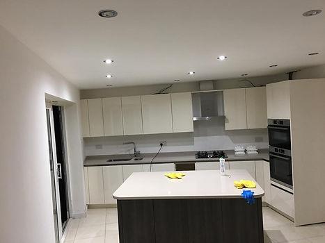 after builders clean ruislip kitchen 2.j