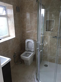 after builders clean ruislip shower 2.jp
