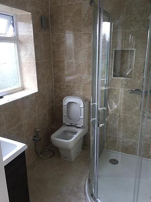 after builders clean ruislip shower 2.jp