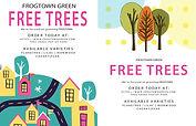 Frogtown free trees fliers.JPG