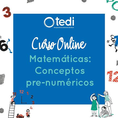 Matemáticas: Conceptos Pre-numéricos