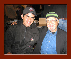 Diego with the great Charles Lloyd