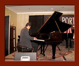 Diego Ramirez performing at the Portland Jazz Festival