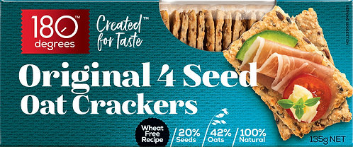 Original 4 Seed Crackers
