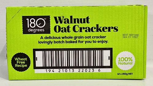 Walnut Oat Crackers [Carton of 12]
