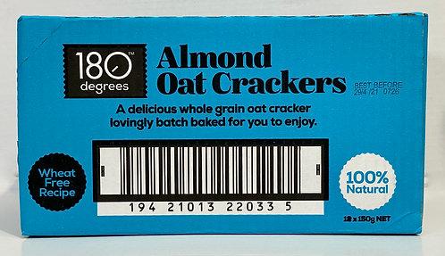 Almond Oat Crackers [Carton of 12]