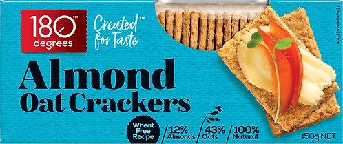 Almond Oat Crackers