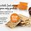 Thumbnail: Cumin 4 Seed Oat Crackers [Carton of 12]