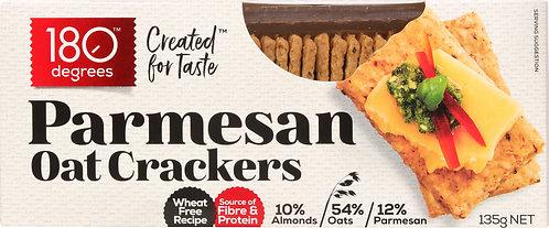Parmesan Oat Crackers [Carton of 12]