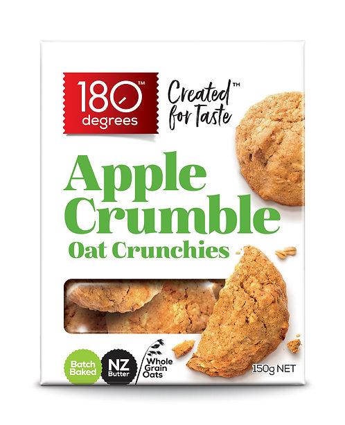 Apple Crumble Oat Crunchies