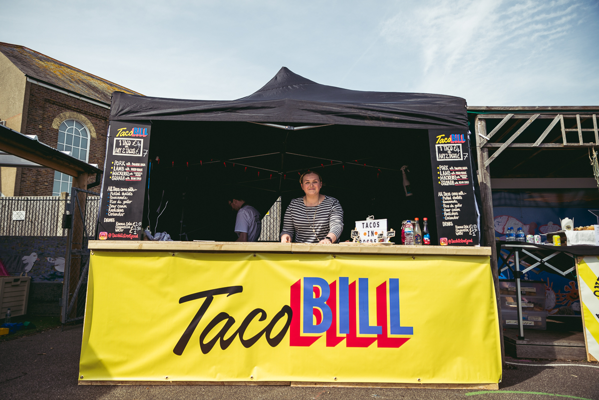 Taco Bill set up