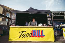 Taco Bill set up