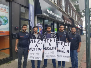 """Food For Thought - """"Meet a Muslim. Ask Me Anything!"""""""