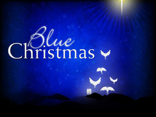 Blue Christmas Service at Logan Memorial Presbyterian Church